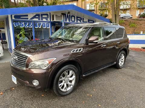 2011 Infiniti QX56 for sale at Car World Inc in Arlington VA