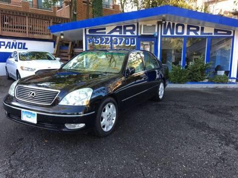 2002 Lexus LS 430 for sale at Car World Inc in Arlington VA