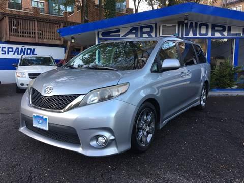 2011 Toyota Sienna for sale at Car World Inc in Arlington VA