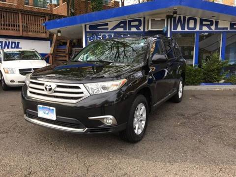2012 Toyota Highlander for sale at Car World Inc in Arlington VA