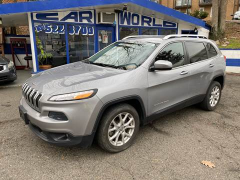 2014 Jeep Cherokee for sale at Car World Inc in Arlington VA