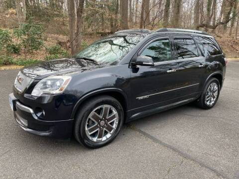 2012 GMC Acadia for sale at Car World Inc in Arlington VA