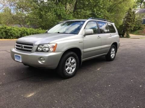 2002 Toyota Highlander for sale at Car World Inc in Arlington VA