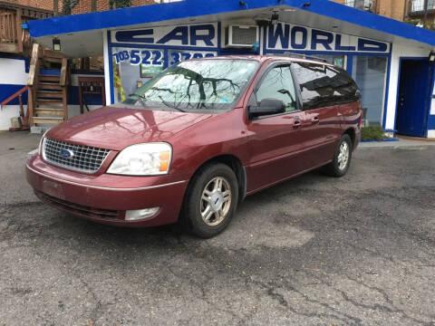 2007 Ford Freestar for sale at Car World Inc in Arlington VA