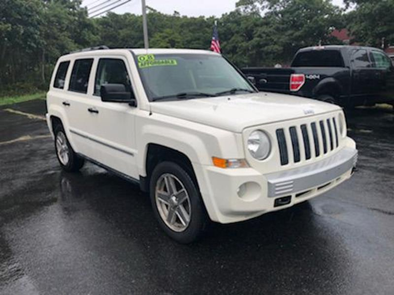 2008 Jeep Patriot For Sale At Cedarville Motors In Plymouth MA