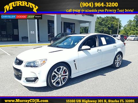 2016 Chevrolet SS for sale in Starke, FL