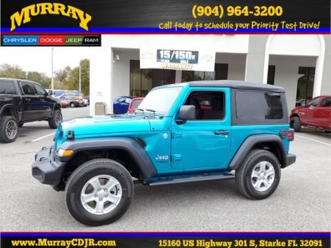 2020 Jeep Wrangler for sale in Starke, FL