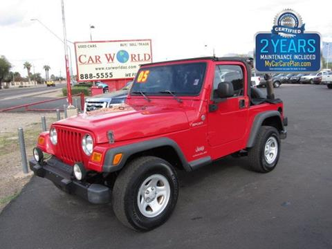 2005 Jeep Wrangler for sale in Tucson, AZ