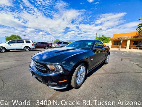 2012 Ford Mustang for sale in Tucson, AZ
