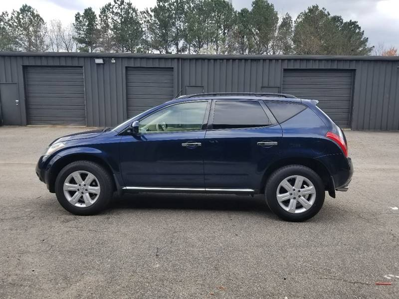 2006 Nissan Murano For Sale At Carplex, LLC In Raleigh NC