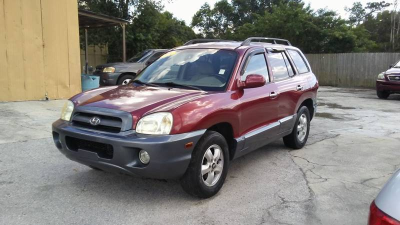 2005 Hyundai Santa Fe For Sale At Perez U0026 Associates Auto Inc In Kissimmee  FL