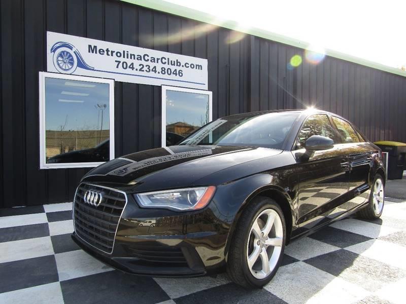 Audi A T Premium In Matthews NC Metrolina Car Club - Audi car 2015