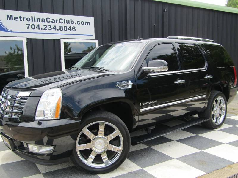 2007 Cadillac Escalade In Matthews Nc Metrolina Car Club