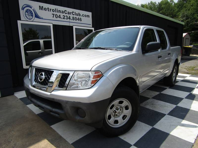 2012 Nissan Frontier For Sale At Metrolina Car Club In Matthews NC