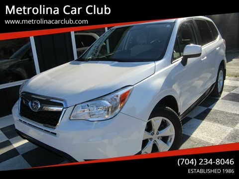 2015 Subaru Forester for sale in Stallings, NC