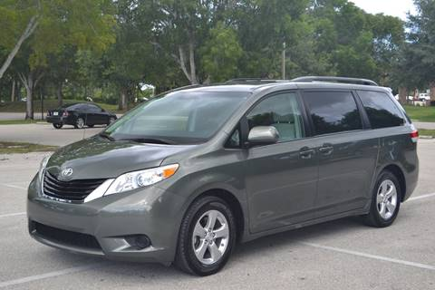 2013 Toyota Sienna for sale at Internet Motorcars LLC in Fort Myers FL