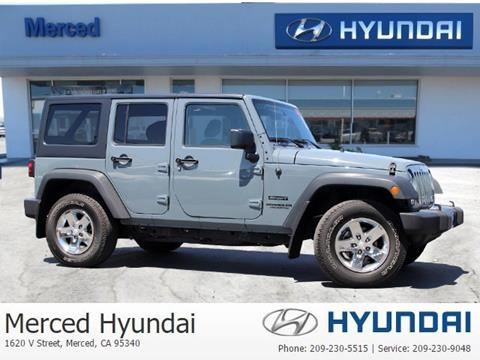 2015 Jeep Wrangler Unlimited for sale in Merced, CA