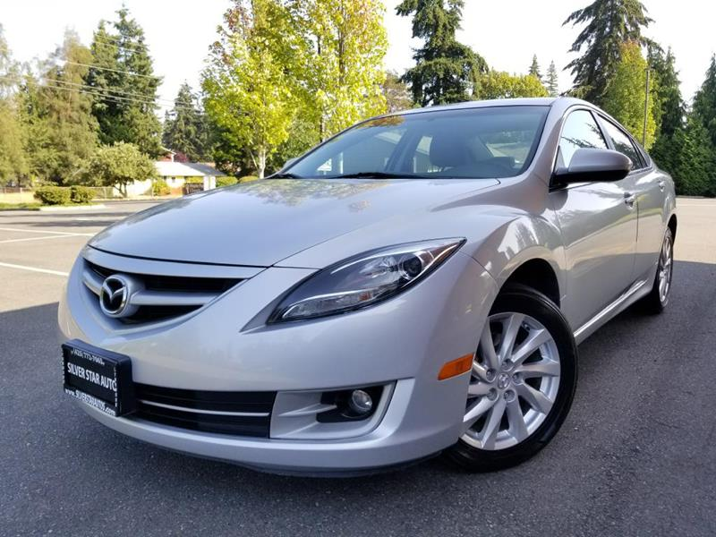 2012 Mazda MAZDA6 For Sale At Silver Star Auto In Lynnwood WA