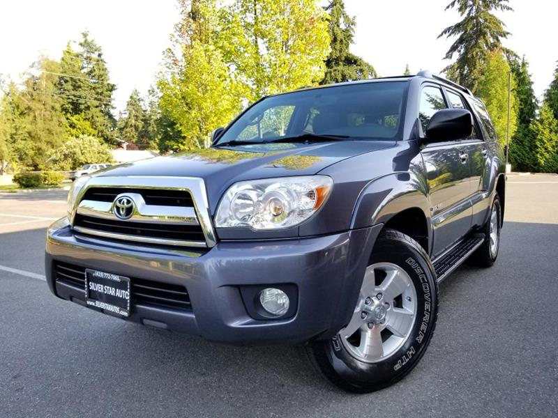 2008 Toyota 4Runner For Sale At Silver Star Auto In Lynnwood WA