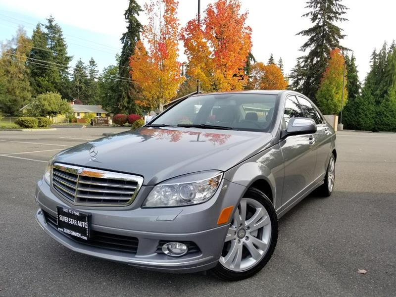 2008 Mercedes Benz C Class For Sale At Silver Star Auto In Lynnwood WA