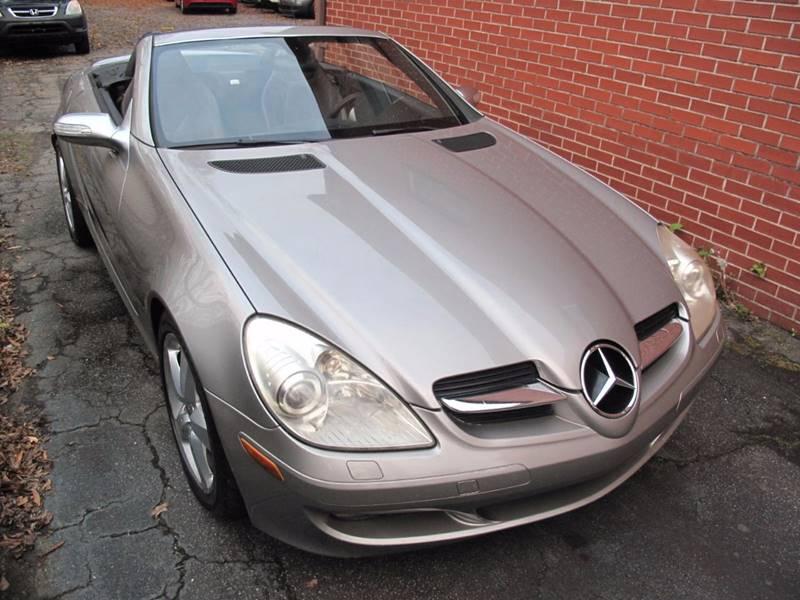 2005 Mercedes-Benz SLK for sale at Top Rider Motorsports in Marietta GA