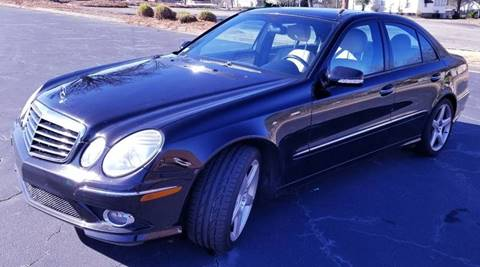 2007 Mercedes-Benz E-Class for sale at Top Rider Motorsports in Marietta GA