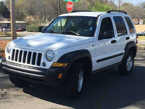 2007 Jeep Liberty for sale at Top Rider Motorsports in Marietta GA