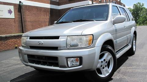 2002 Infiniti QX4 for sale at Top Rider Motorsports in Marietta GA