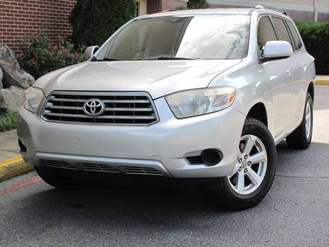 2008 Toyota Highlander for sale at Top Rider Motorsports in Marietta GA