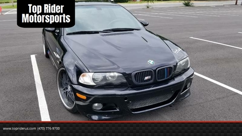 2005 BMW M3 for sale at Top Rider Motorsports in Marietta GA