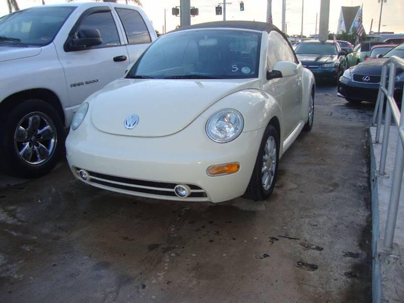 2005 Volkswagen New Beetle Gls In Oakland Park Fl Top Two Usa Inc
