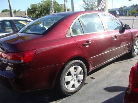 2007 Hyundai Sonata for sale at TOP TWO USA INC in Oakland Park FL