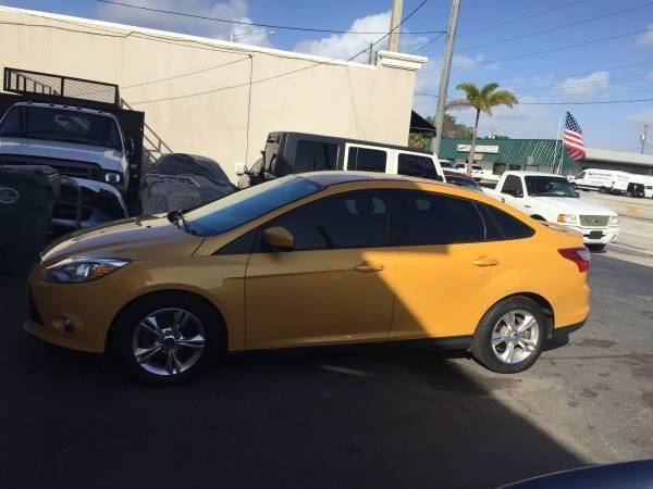 2012 Ford Focus for sale at TOP TWO USA INC in Oakland Park FL