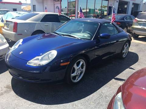 2001 Porsche 911 Carrera for sale at TOP TWO USA INC in Oakland Park FL