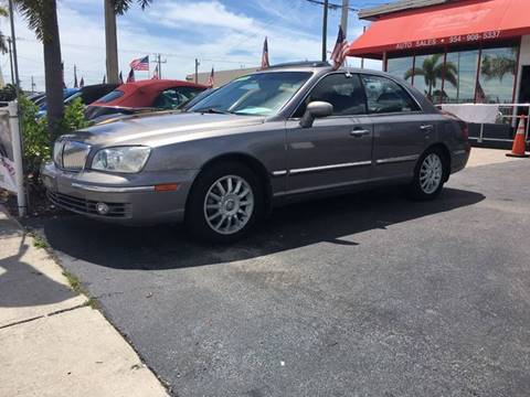 2005 Hyundai XG350 for sale at TOP TWO USA INC in Oakland Park FL