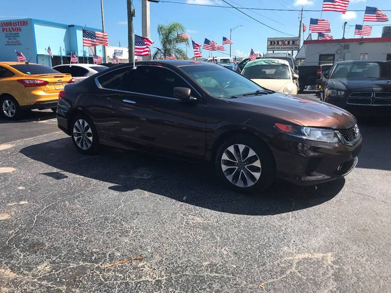 2013 Honda Accord For Sale At TOP TWO USA INC In Oakland Park FL