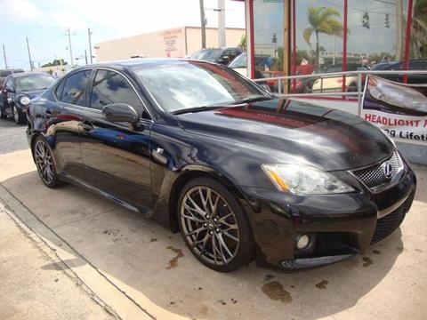 2008 Lexus IS F For Sale In Oakland Park, FL
