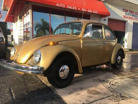 Volkswagen Beetle For Sale in Oakland Park, FL - TOP TWO USA INC
