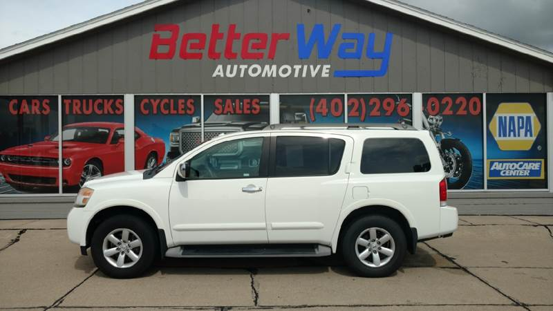 2010 Nissan Armada Se In Plattsmouth Ne Betterway Automotive Inc