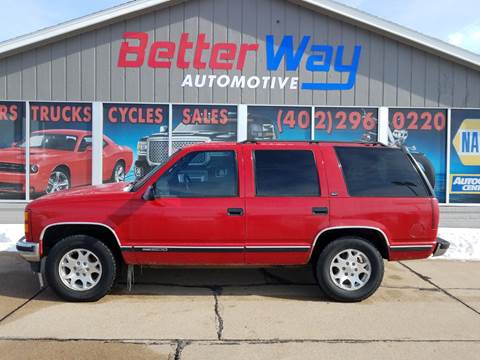 1996 GMC Yukon for sale in Plattsmouth, NE