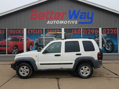 2007 Jeep Liberty for sale in Plattsmouth, NE