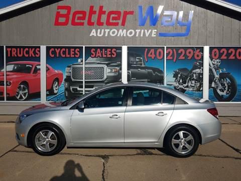 2011 Chevrolet Cruze LT for sale at Betterway Automotive Inc in Plattsmouth NE