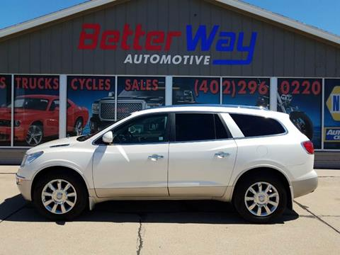 2012 Buick Enclave Leather for sale at Betterway Automotive Inc in Plattsmouth NE