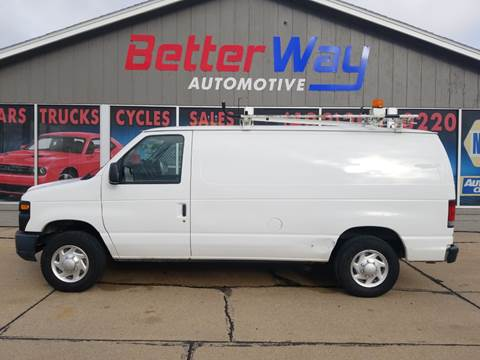 2012 Ford E-Series Cargo E-150 for sale at Betterway Automotive Inc in Plattsmouth NE