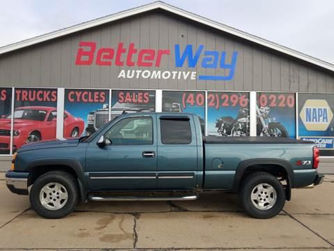 2007 Chevrolet Silverado 1500 Classic LS for sale at Betterway Automotive Inc in Plattsmouth NE