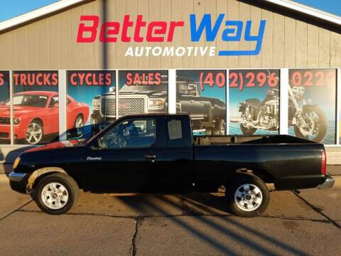 2000 Nissan Frontier XE for sale at Betterway Automotive Inc in Plattsmouth NE