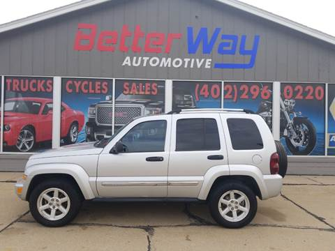 2007 Jeep Liberty Limited for sale at Betterway Automotive Inc in Plattsmouth NE