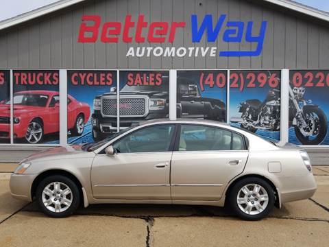 2006 Nissan Altima 2.5 S for sale at Betterway Automotive Inc in Plattsmouth NE