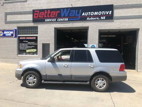 2003 Ford Expedition for sale at Betterway Automotive Inc in Plattsmouth NE