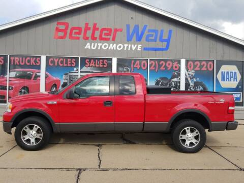 2005 Ford F-150 for sale at Betterway Automotive Inc in Plattsmouth NE